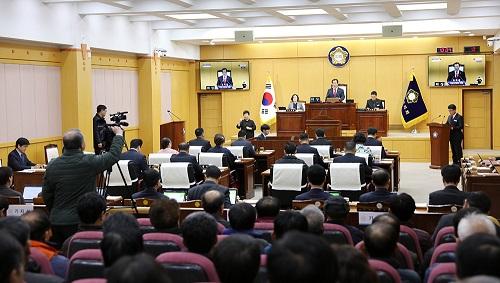 서산시의회 제240회 임시회 개회···2019 추경예산안 등 안건심사