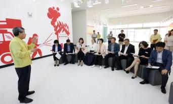 서산시의회 총무위원회, 집행부 주요 사업현장 방문