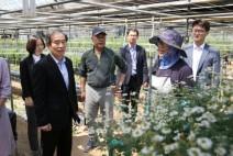 서부발전 김병숙 사장, 지역농가에 상생경영 의지 전달