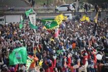500년 전통 기지시줄다리기 민속축제 11일 팡파르