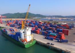 서산 대산항 컨테이너 물동량 최초 12만TEU 돌파